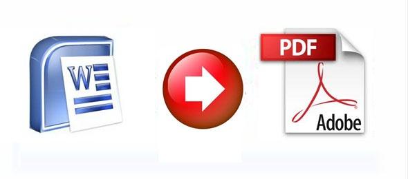 Word Dosyalarını PDF Biçimine Dönüştürmek