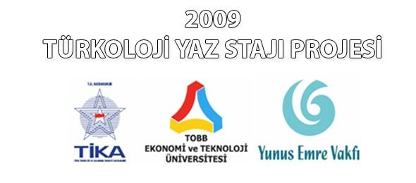 2009 Türkoloji Yaz Stajı Projesi Gerçekleştirildi