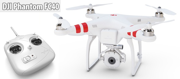 DJI Phantom FC40 Quadcopter İncelemesi