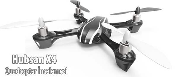 Hubsan X4 H107L Mikro Quadcopter İncelemesi