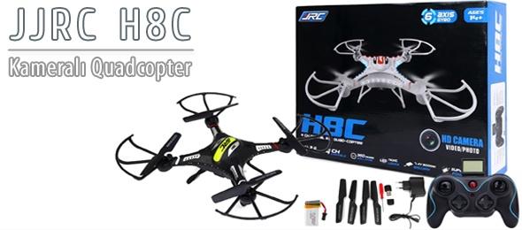 JJRC H8C Kameralı Quadcopter İncelemesi
