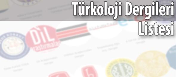 Türkoloji Dergileri Listesi