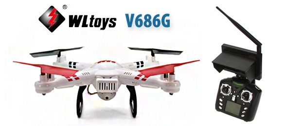 WLtoys V686G FPV Quadcopter İncelemesi