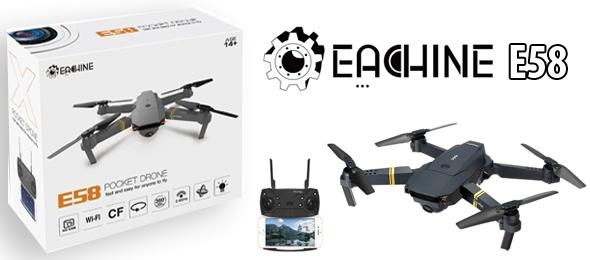 Eachine E58 FPV Özellikli Drone İncelemesi