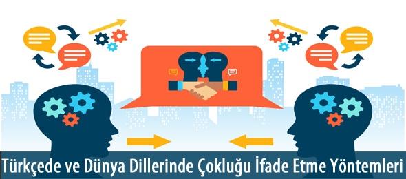 Türkçede ve Dünya Dillerinde Çokluğu İfade Etme Yöntemleri