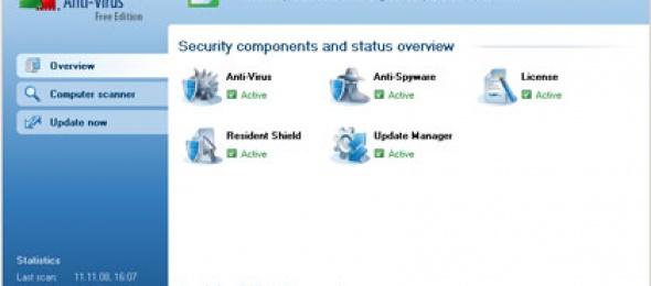 Ücretsiz ve Kullanışlı Antivirüs Programı: AVG Free