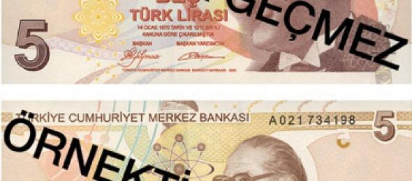 Yeni Banknotlar, Madenî Paralar ve Önlemler