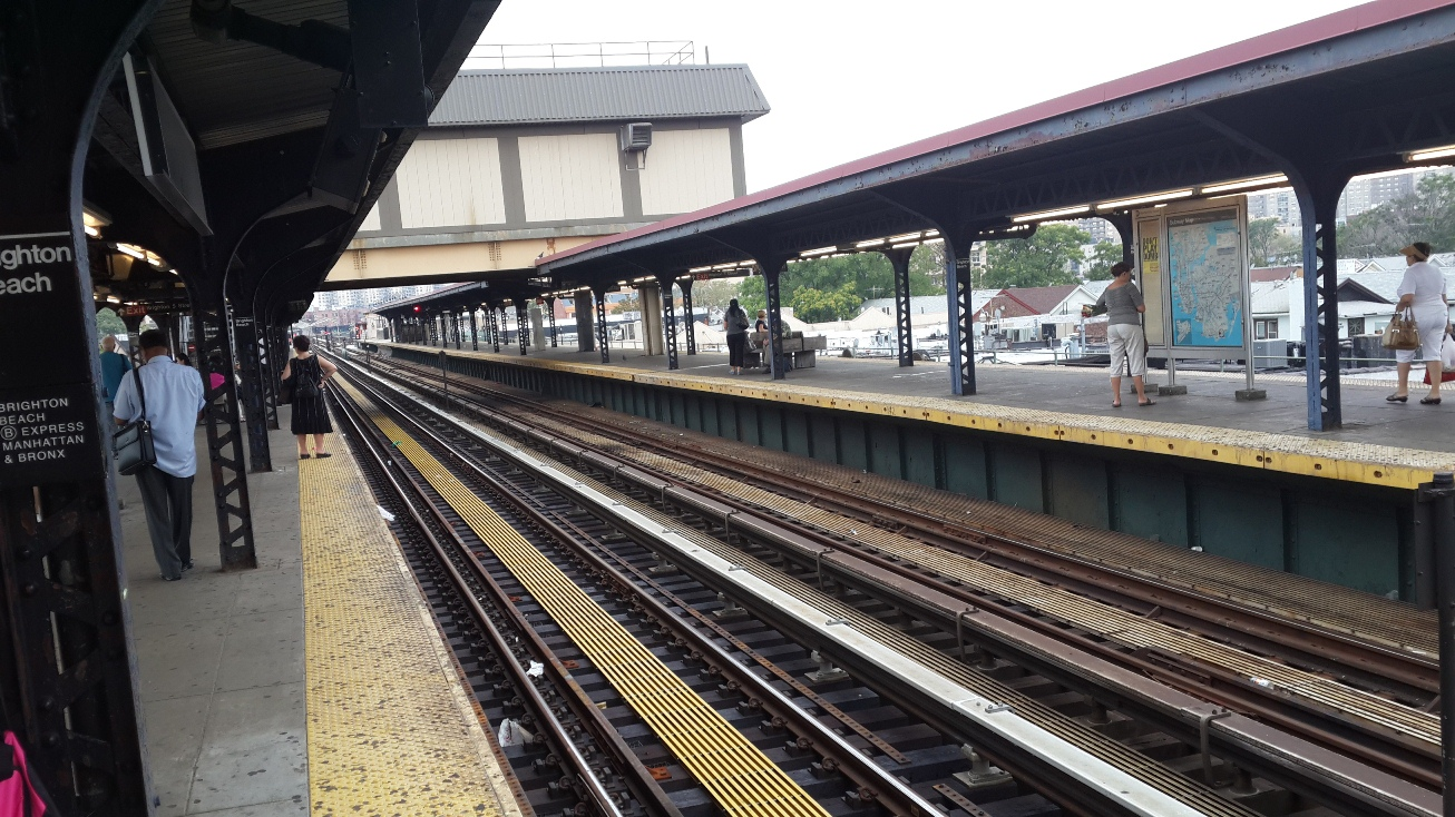 Brooklyn metro istasyonu