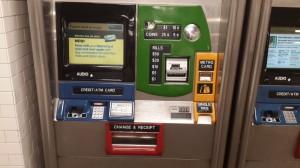 MetroCard makinesi
