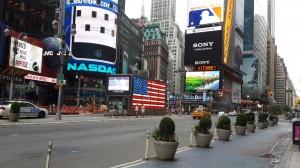 Times Meydanı ve NASDAQ