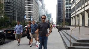 Manhattan'ın gökdelenleri arasında