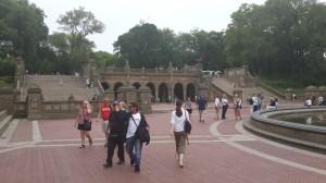 Central Park içerisindeki yapılar