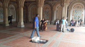 Central Park müzisyenleri