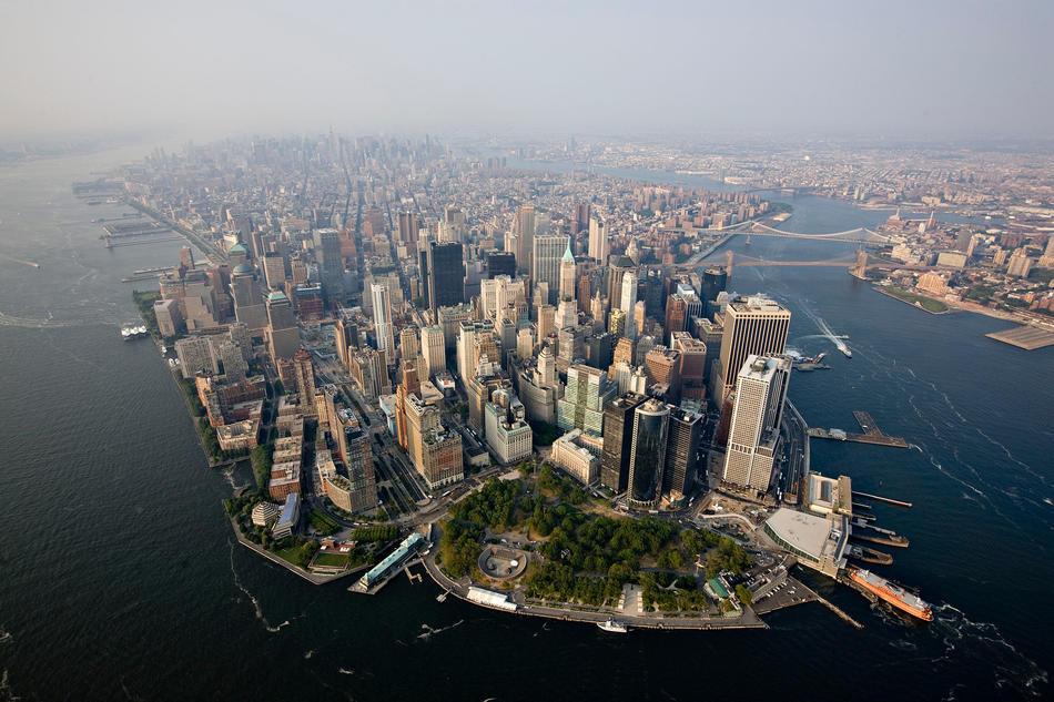 Havadan New York manzarası