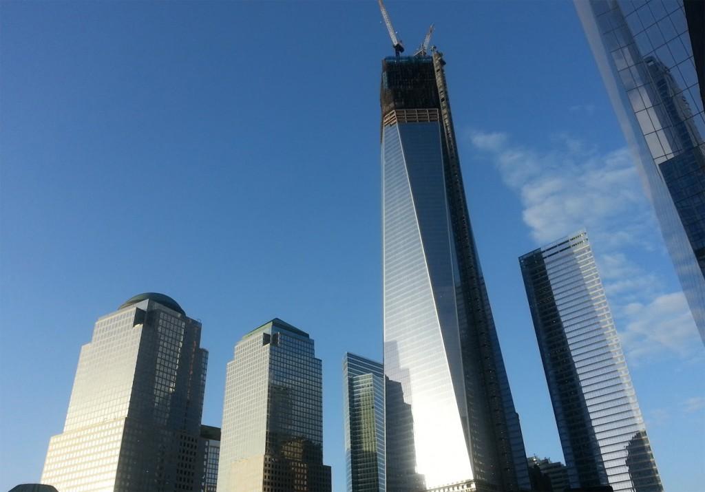 İnşaatı devam eden One World Trade Center