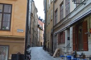Eski Stockholm sokakları