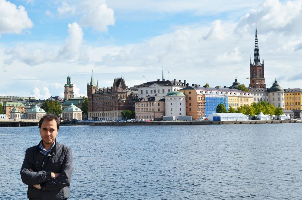 Gamla Stan manzarası ve Baltık Denizi'nin uzantısı