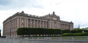 İsveç parlamento binası