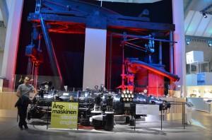 Teknik Müze ve buharlı motor örneği
