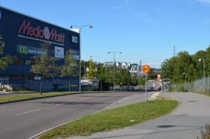 Hotel Dialog yakınındaki Stockholm caddeleri