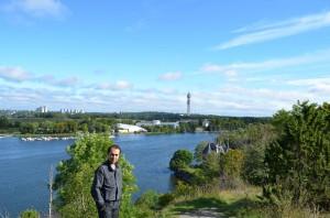 Skansen'den Kaknas Kulesi