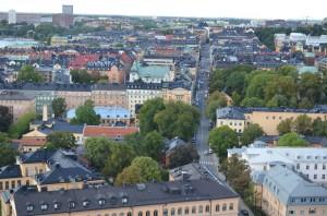 Belediye binası kulesinden Stockholm
