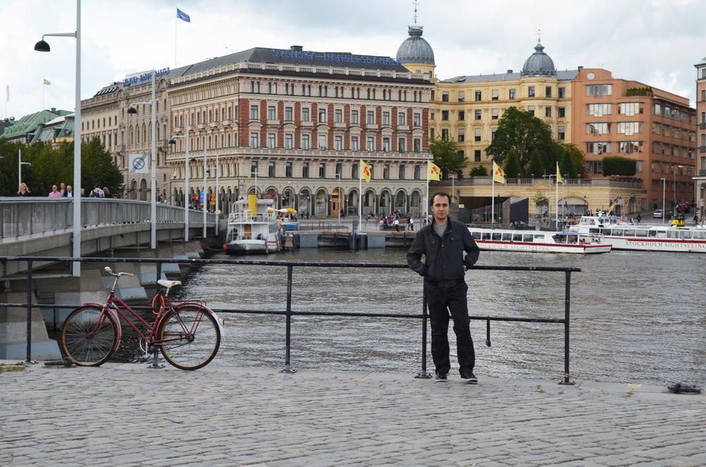 Stockholm manzarası