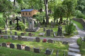 Djurgarden mezarlıığı