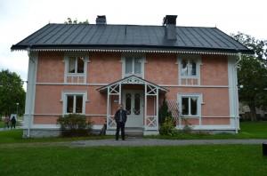 Stockholm Üniversitesinde bir ofis