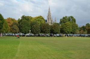 Rathauspark Votivkirche