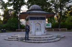 Turkenschanzpark Yunus Emre Çeşmesi
