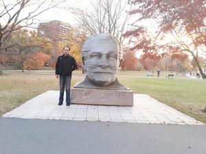 Arthur Fiedler heykeli