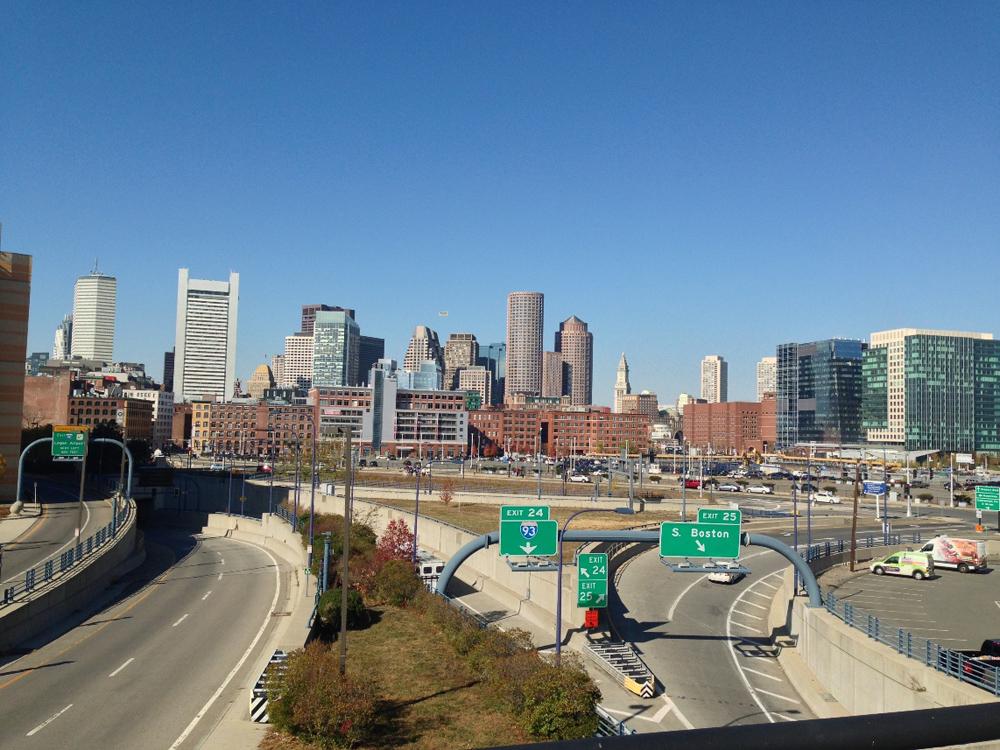 Boston gökdelen manzarası