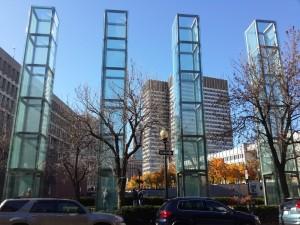 Holocaust Memorial (hemen her şehirde bir tane var)