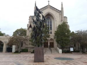 Boston Üniversitesinin girişi