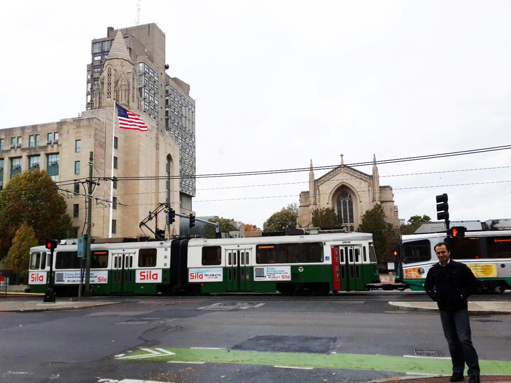 Boston Üniversitesi ve tarihî Green Line