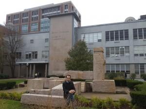 Boston Üniversitesi İletişim Fakültesi önü