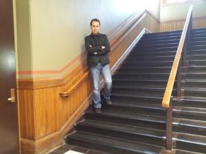Harvard Üniversitesi merdivenleri