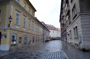Bratislava eski şehir sokakları