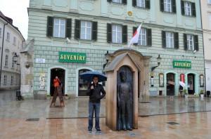 Bratislava heykellerinden