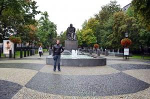 Hviezdoslav heykeli