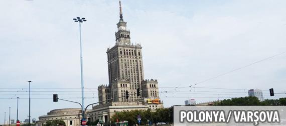 Varşova gezilecek yerler