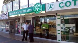 Giresun Fiskobirlik satış mağazası