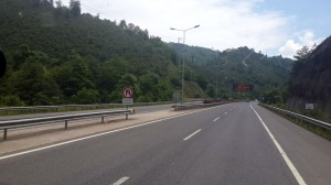 Ordu yolu ve tünelleri