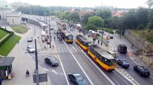 Varşova ulaşım ağı
