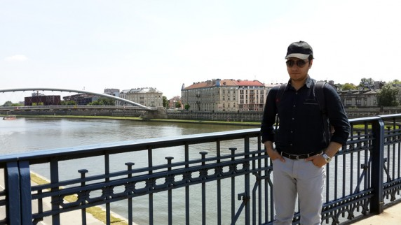Krakow kprüleri ve Vistül Nehri