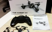 Hubsan X4 H107L Quadcopter kutu içeriği