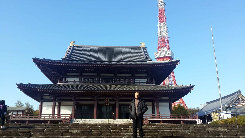 Jojoji Tapınağı ve Tokyo Tower