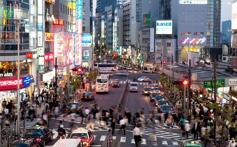 Tokyo caddeleri