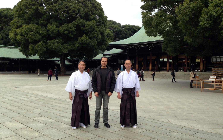 Meiji Jingu tapınağından...